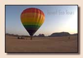 Wadi Rum Heissluftballon