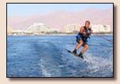 Wasserski in Eilat